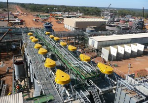 Facilities at Barrick's Lumwana Copper Mine