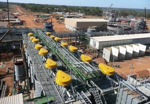 Facilities at Barrick's Lumwana Copper Mine