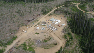Photo of Ootsa Lake Property, Porphyry Copper Deposits, British Columbia, Canada