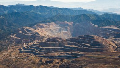 Photo of Tellurium recovery from copper smelting at Rio Tinto's Bingham Canyon (Kennecott) Mine