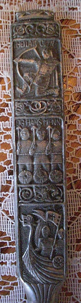 Viking Fork made from Pewter Image CC