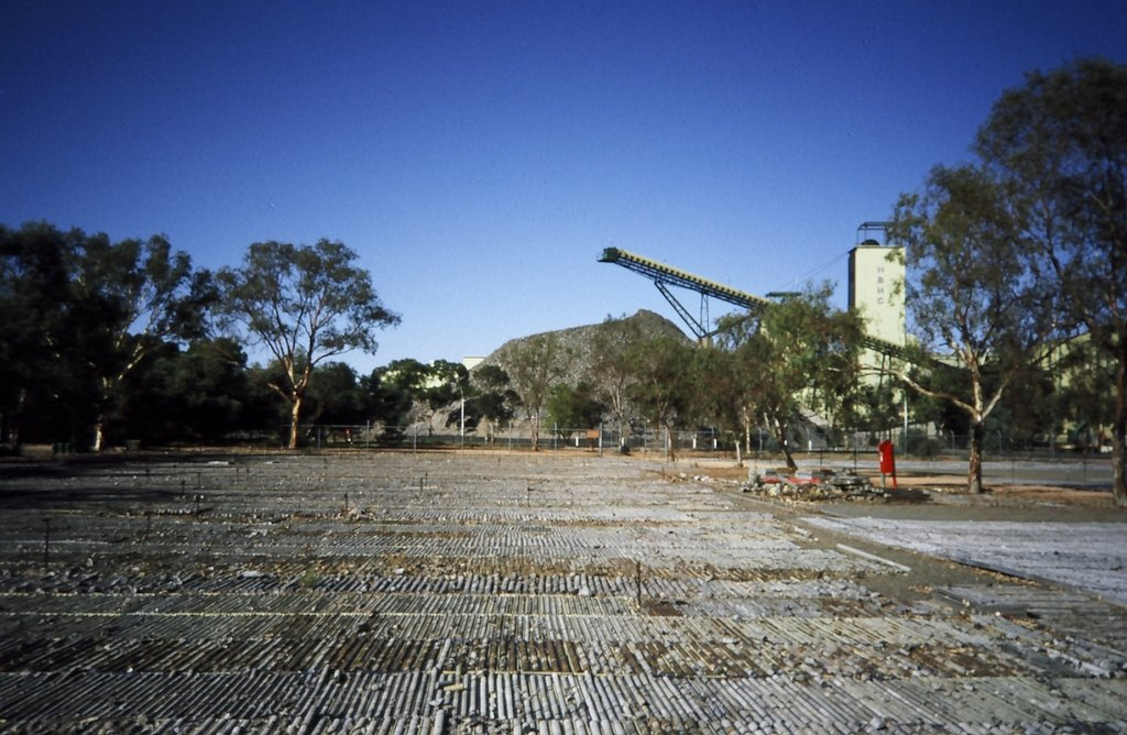 New Broken Hill Consolidated Shaft and Core Yard