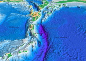 Atlantic Trench, home to the deepest explored hydrothermal vents on Earth (Image: USGS, via Wikimedia Commons)
