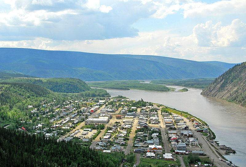 Where to house a workforce for a mine, or how to transport them to a temporary camp are key decisions. Dawson City, Yukon, Canada Image CC