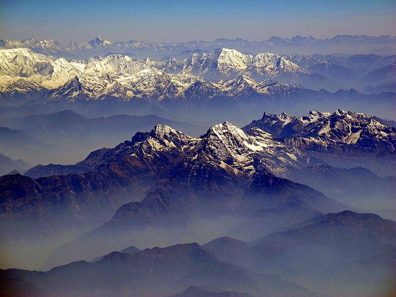 Himalayas - Big Collision! Image CC