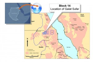 Location of Galat Sufar in Block 14