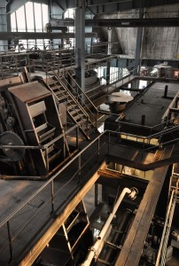 Inside a coal handling and preparation plant (CHPP).