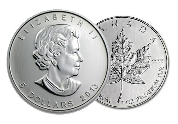 palladium coin produced by the Royal Canadian Mint  Palladium is an    Palladium Uses