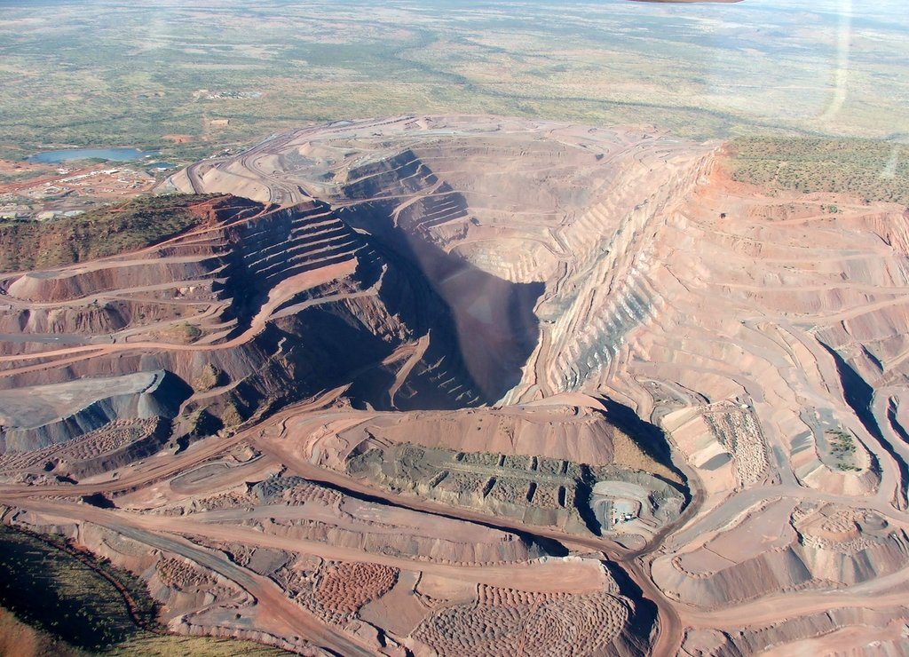 Argyle Diamond Mine, Western Australia