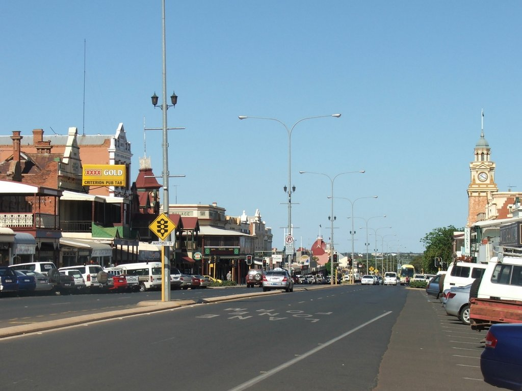 Kalgoorlie's main street - Hannan Street