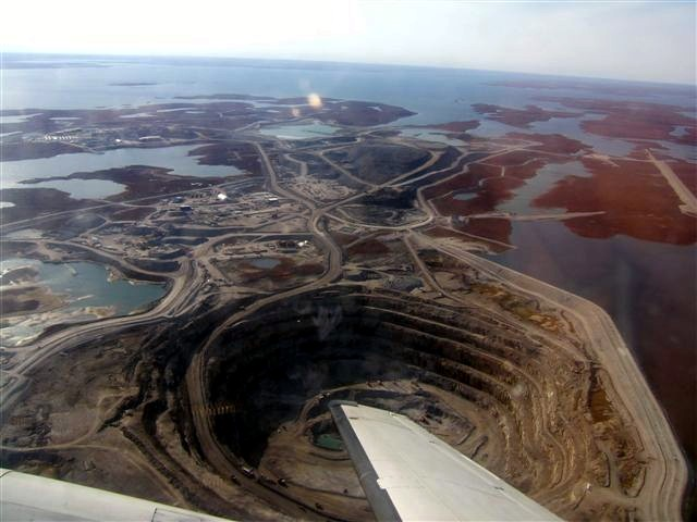 Diavik Diamond Mine, Northwest Territories, Canada. Image CC