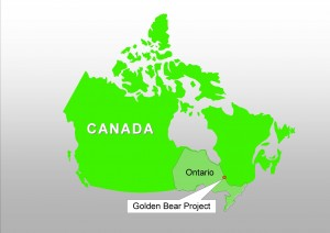 Location of the Great Bear Project