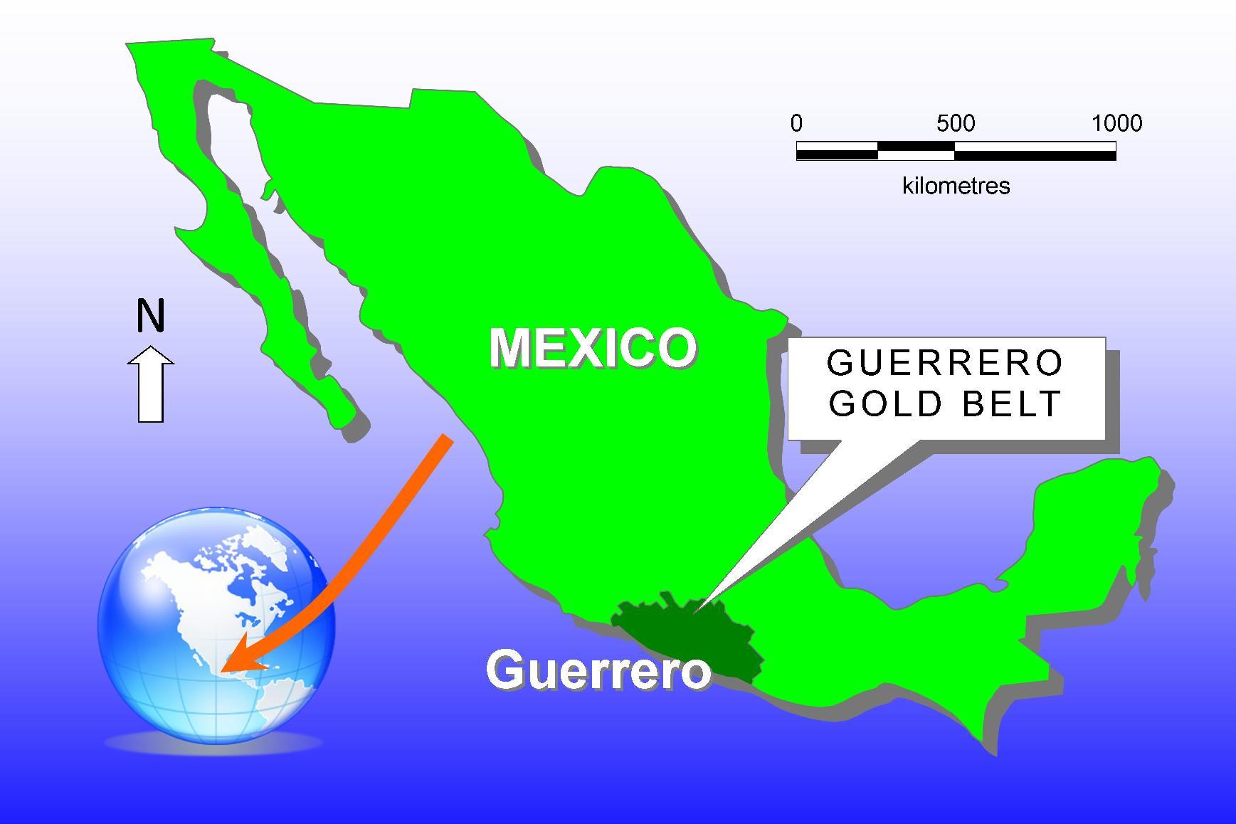Výsledek obrázku pro guerrero mexico mining