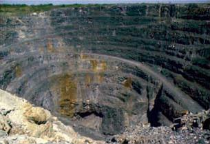 Kidd Mine in Timmins, Ontario, Canada.