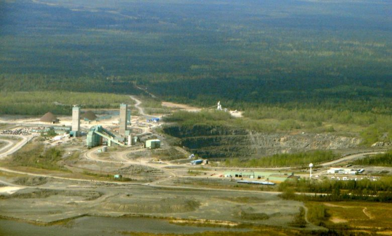 The Kidd Mine near Timmins, Ontario