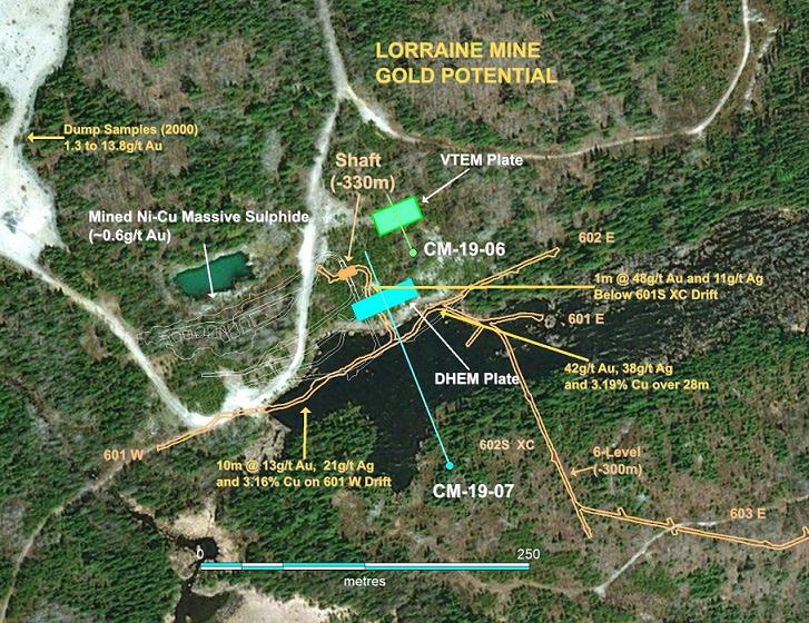 Lorraine Mine plan