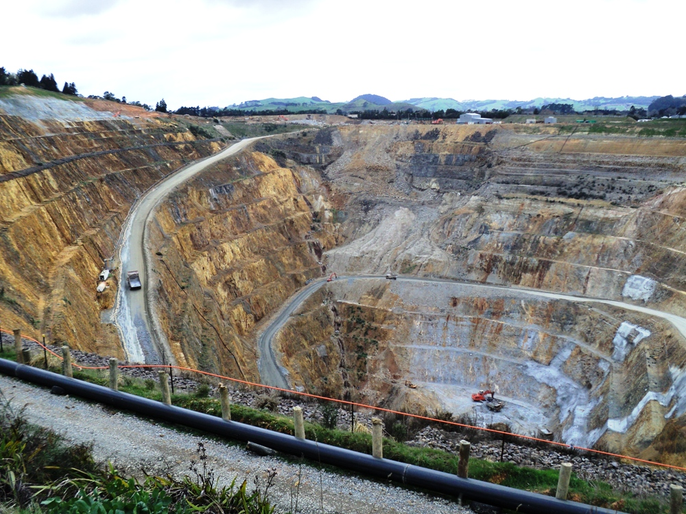 Martha Mine, Waihi, New Zealand