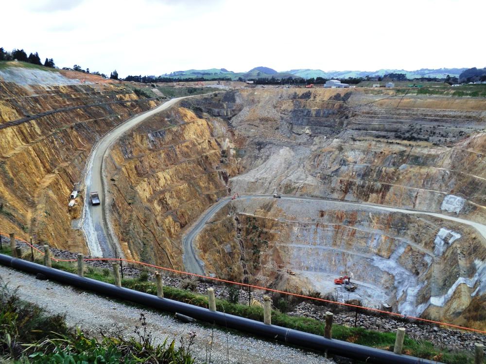 Martha Mine, Waihi, New Zealand