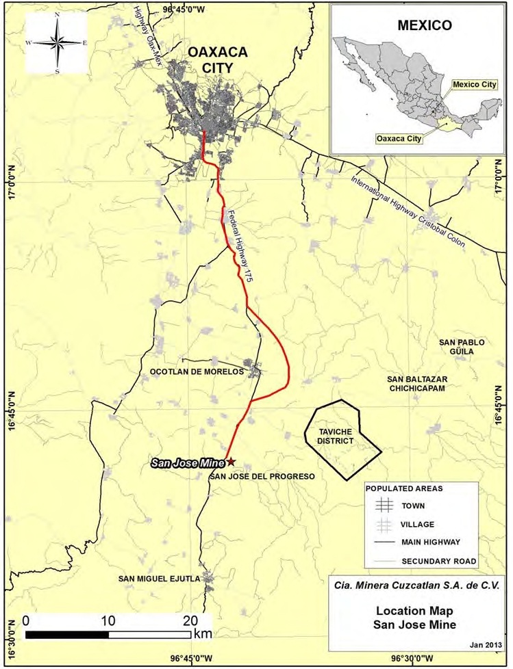 San Jose Mine Mexico Geology for Investors