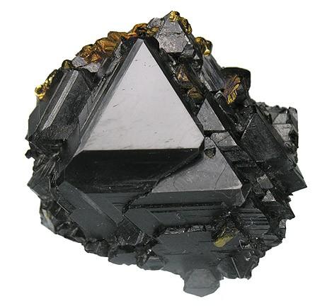Sphalerite crystals from Idarado Mine, Telluride, Colorado.