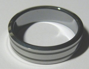 Tungsten carbide jewellery Image CC