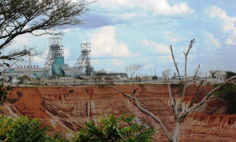 Nkana open pit in Kitwe
