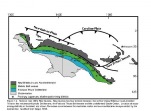 General Geology of New Guinea (from Lynn 2006)