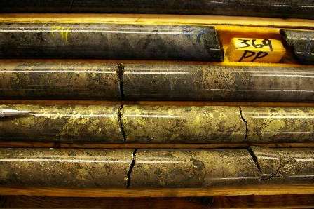 Massive Sulphides from Coulon Property