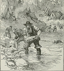 Placer miner, Alaska