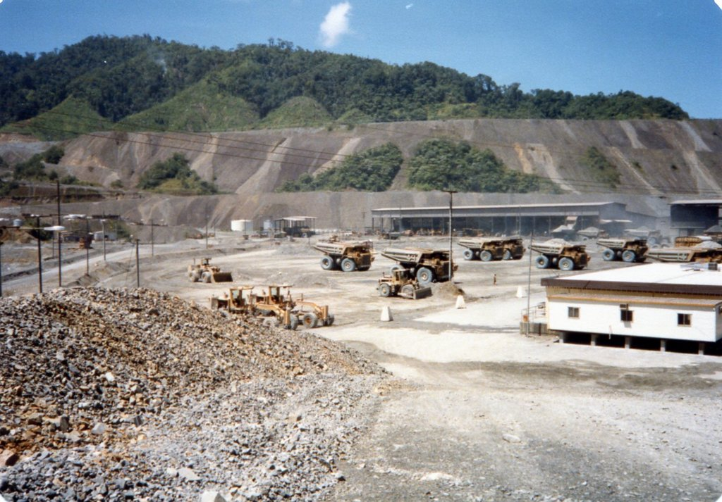 Bougainville Copper Ltd, Truck Park 1986
