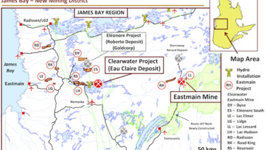 Photo of Rock and Soil Sampling Yields Results Near Eastmain Mine