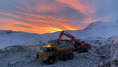 Photo of Mining in Greenland: Hudson Resources Anorthosite Project