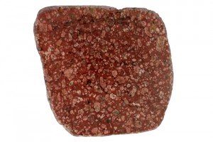 A porphyry is not a rock type, but rock with a particular texture. This porphyritic rock has large feldspar crystals in a finer grained matrix.